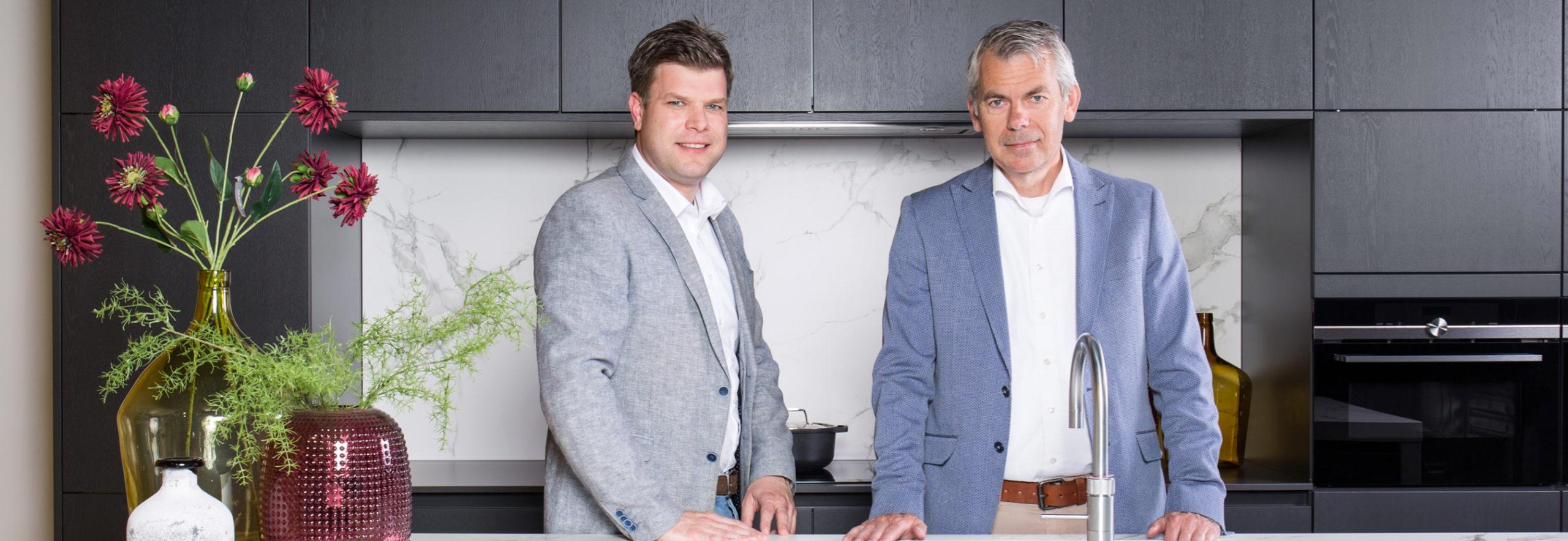 Huidig commercieel directeur Maurits Heijmen en algemeen directeur Henny Jansen