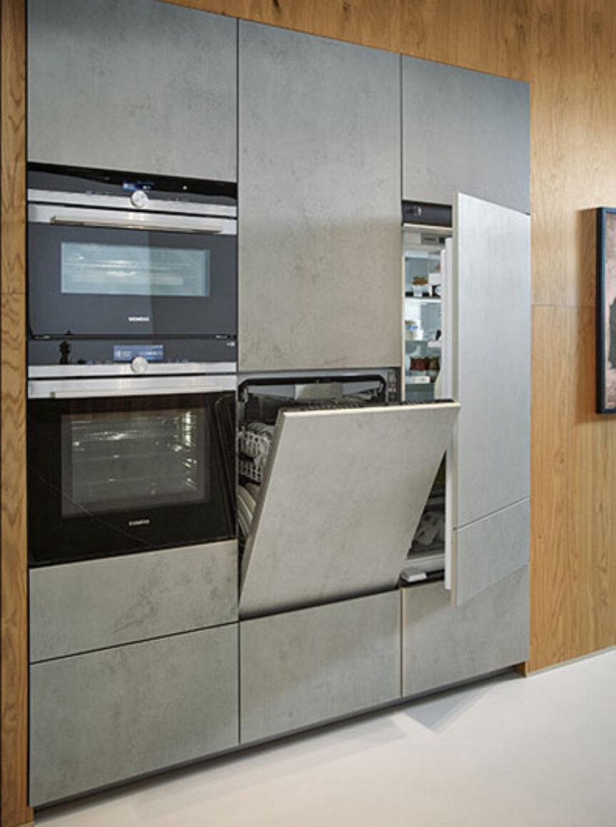 Next125 NX950 keramiek betongrijs imitatie