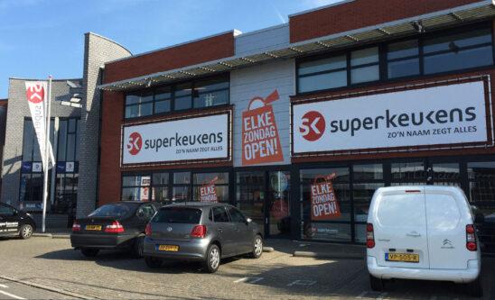 Superkeukens showroom in Huissen