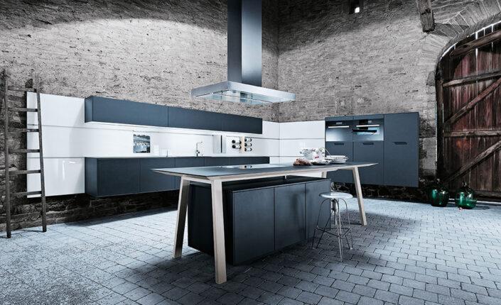 Zwarte keuken next125