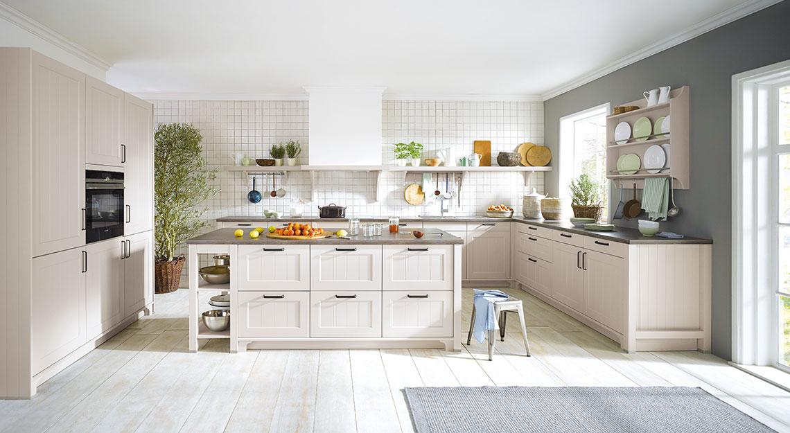 Landelijke keukens bij Jansen Totaal Wonen