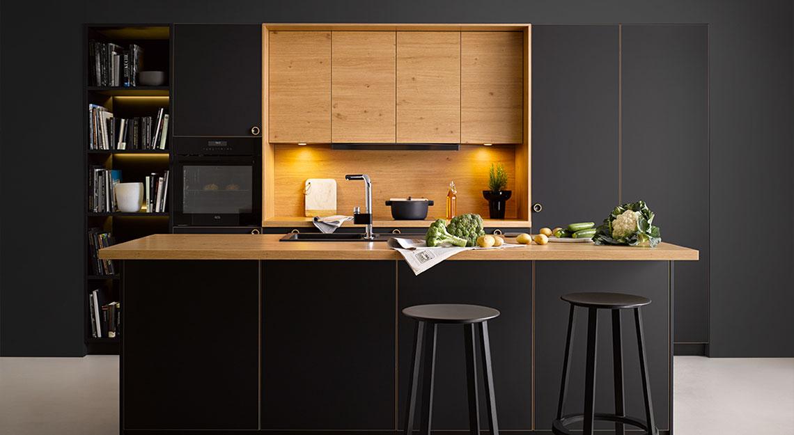 Moderne keukens bij Jansen Totaal Wonen