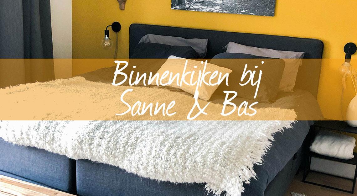 binnenkijken bij Sanne en bas, bij jansen totaal wonen.