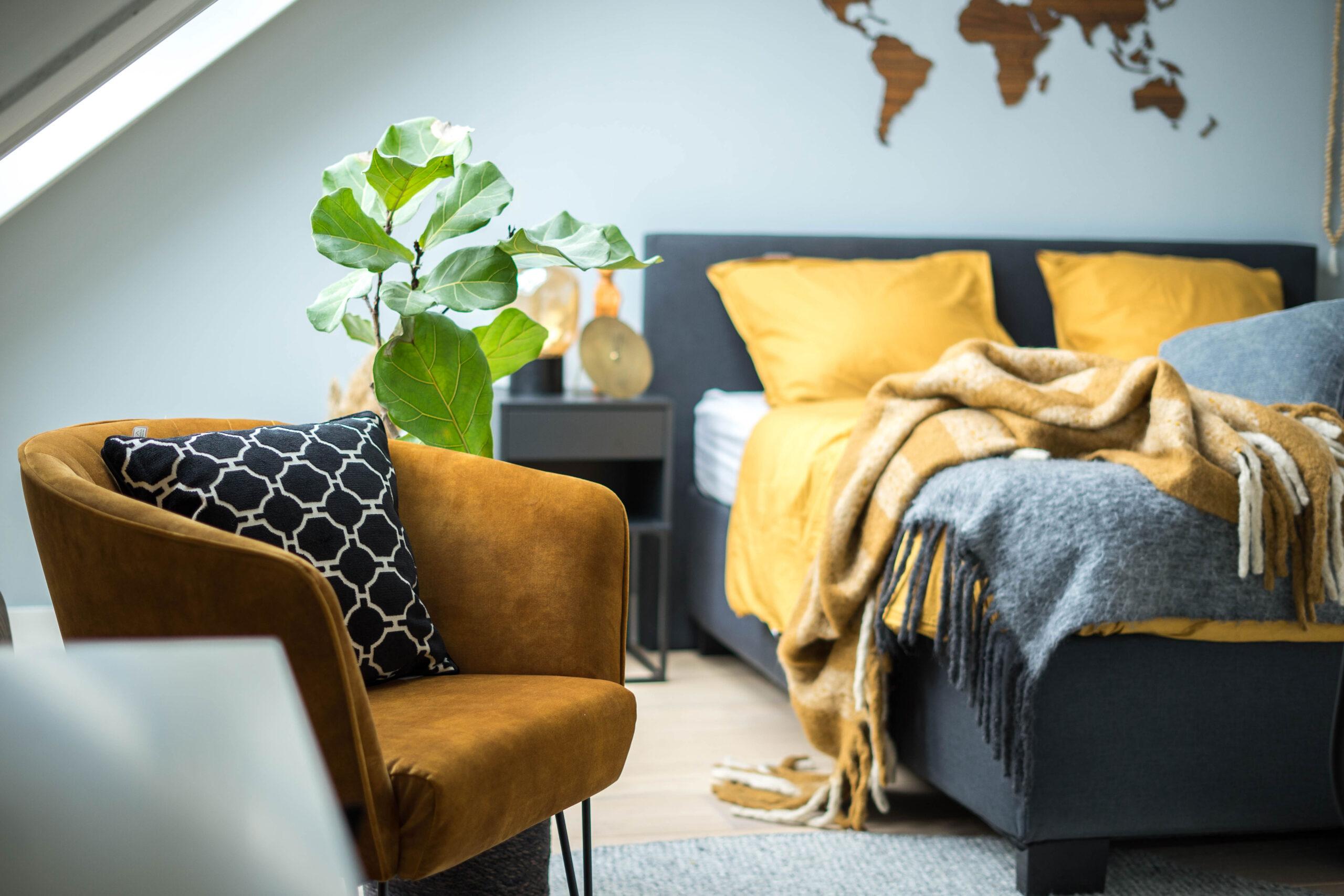 Afbeelding voor Shop de look: Een frisse slaapkamer