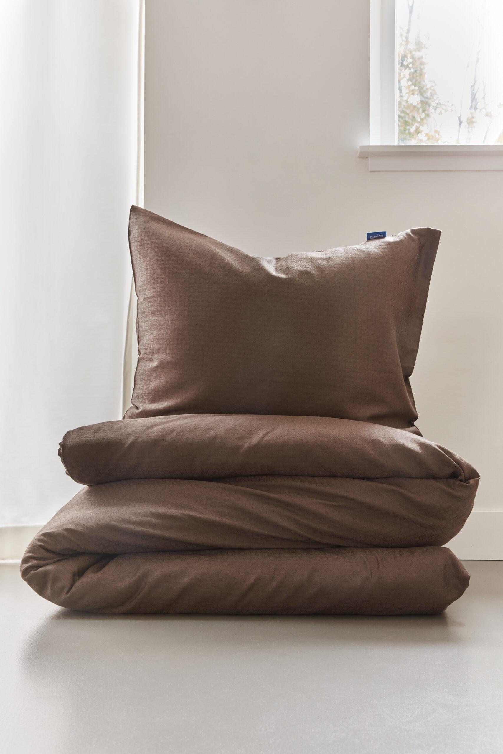 Textiel bruin