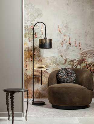 woolly fauteuil voor een warm interieur