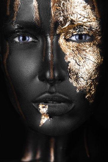 Girl Close Up Alu Art