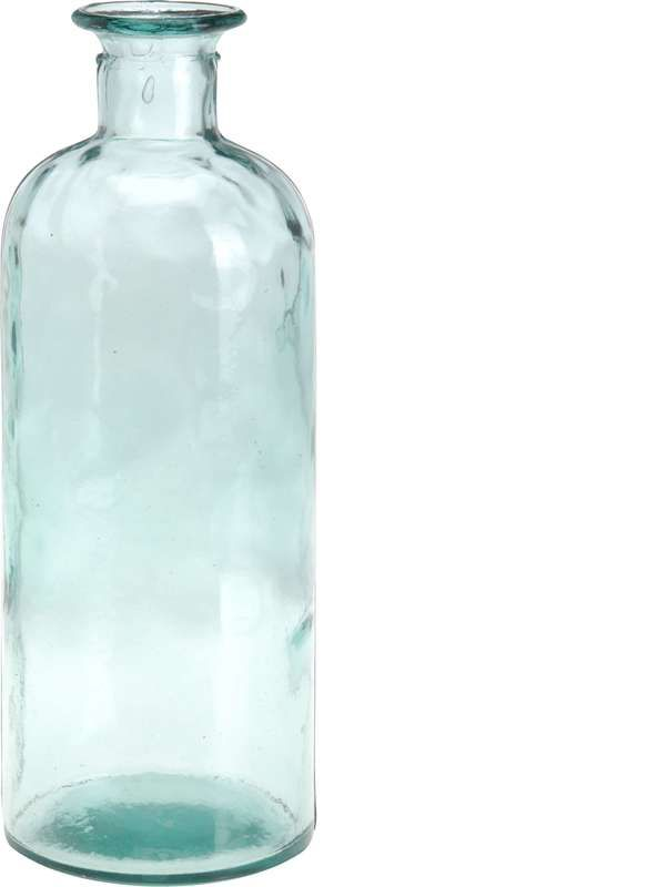 Fles recycled glas 2500ml