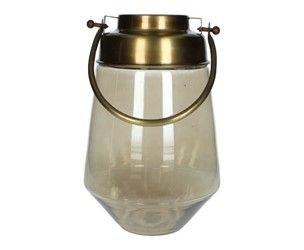 Gold glass latern
