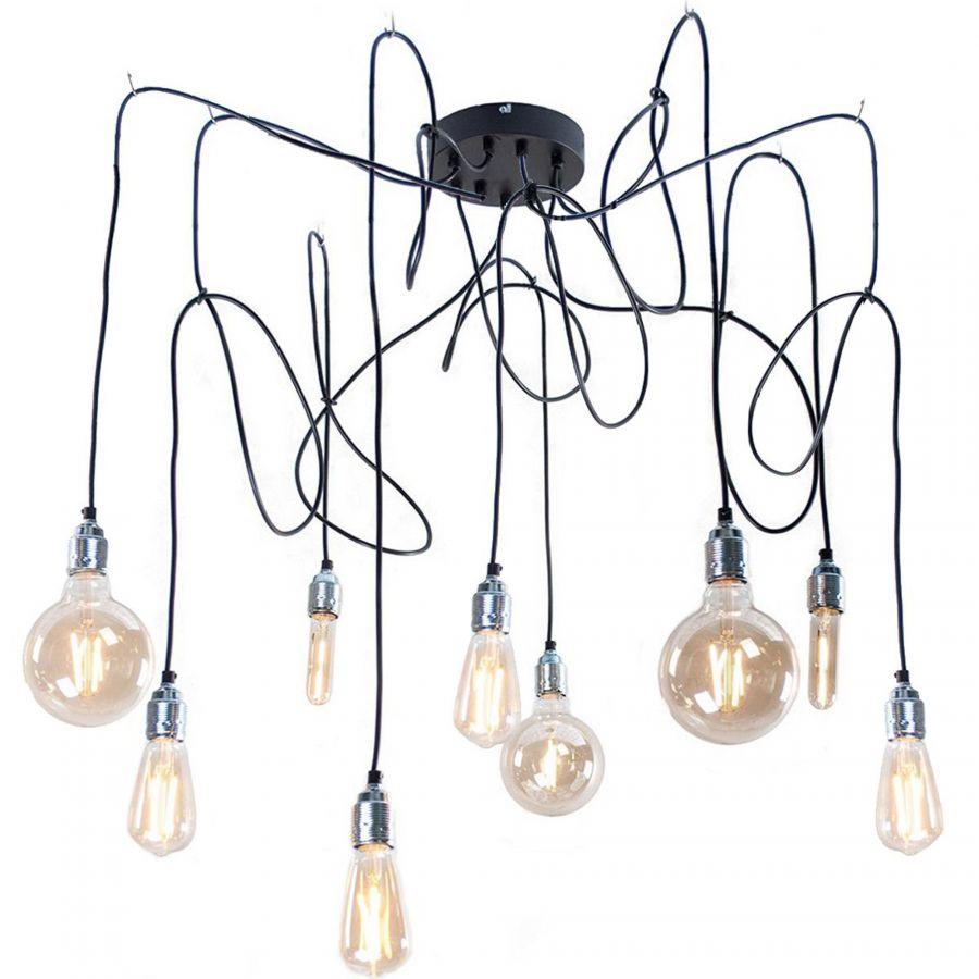 Maik 9 lichtpunten hanglamp