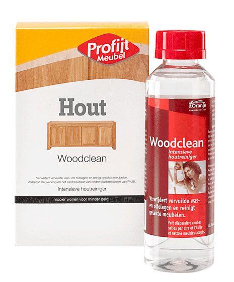 Woodclean houtreiniger 250ml