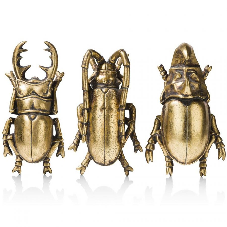 Insects objects set van 3 37949GOU COCO maison