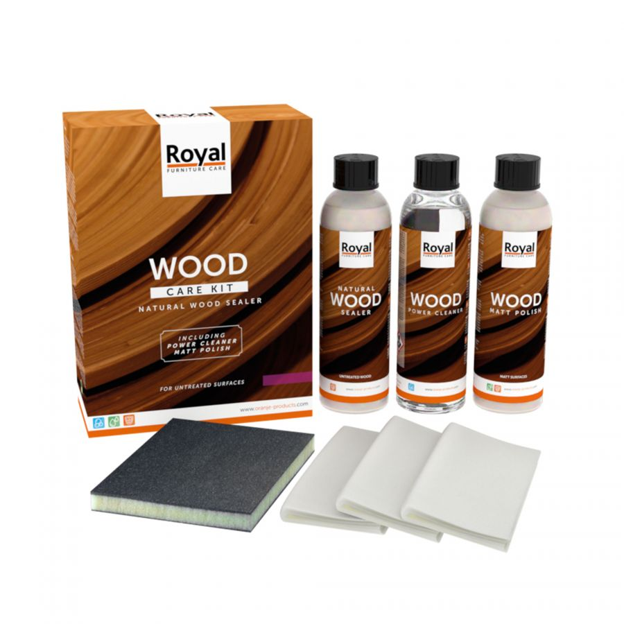 Wood Care Kit Naturel Woodsealer
