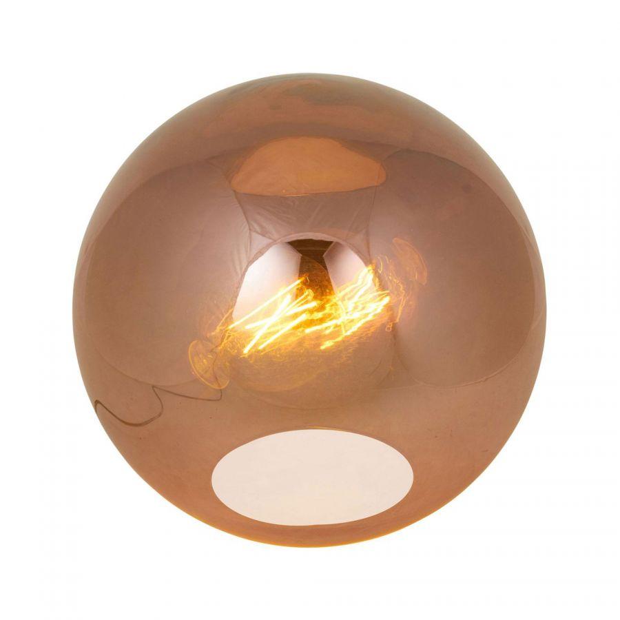 Bronx tafellamp koper Trendhopper