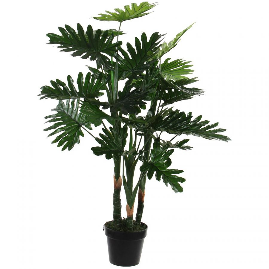 Philodendron kunstplant in pot