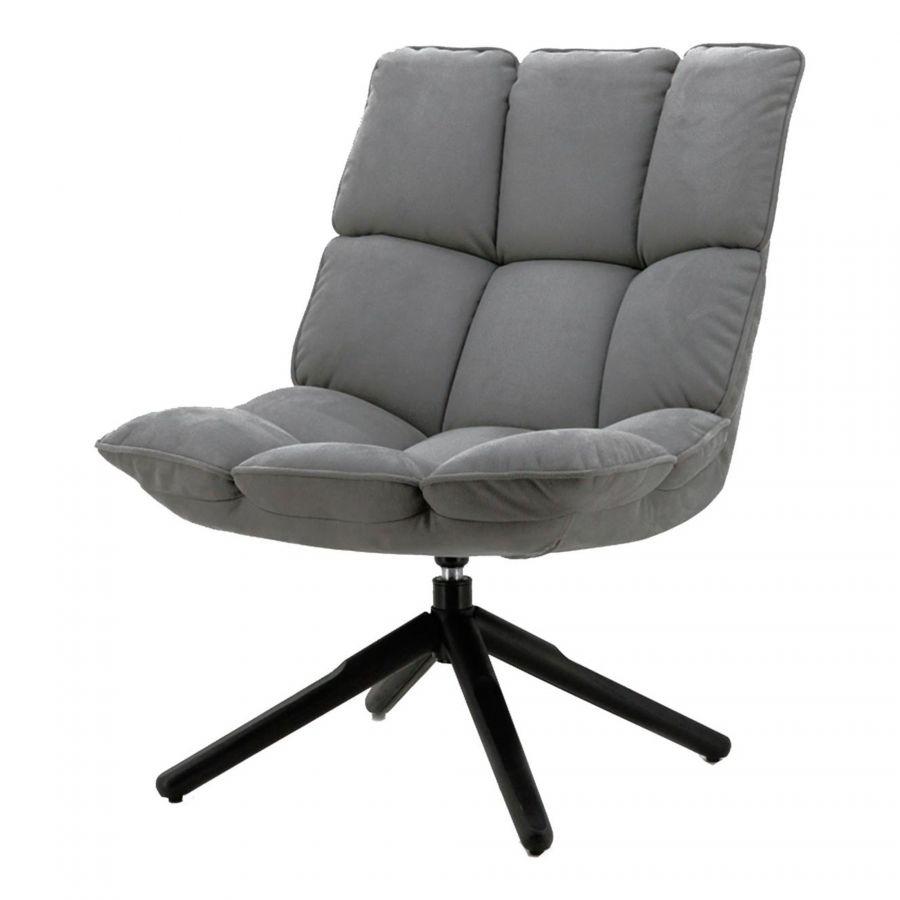 Dacota fauteuil antraciet touareg