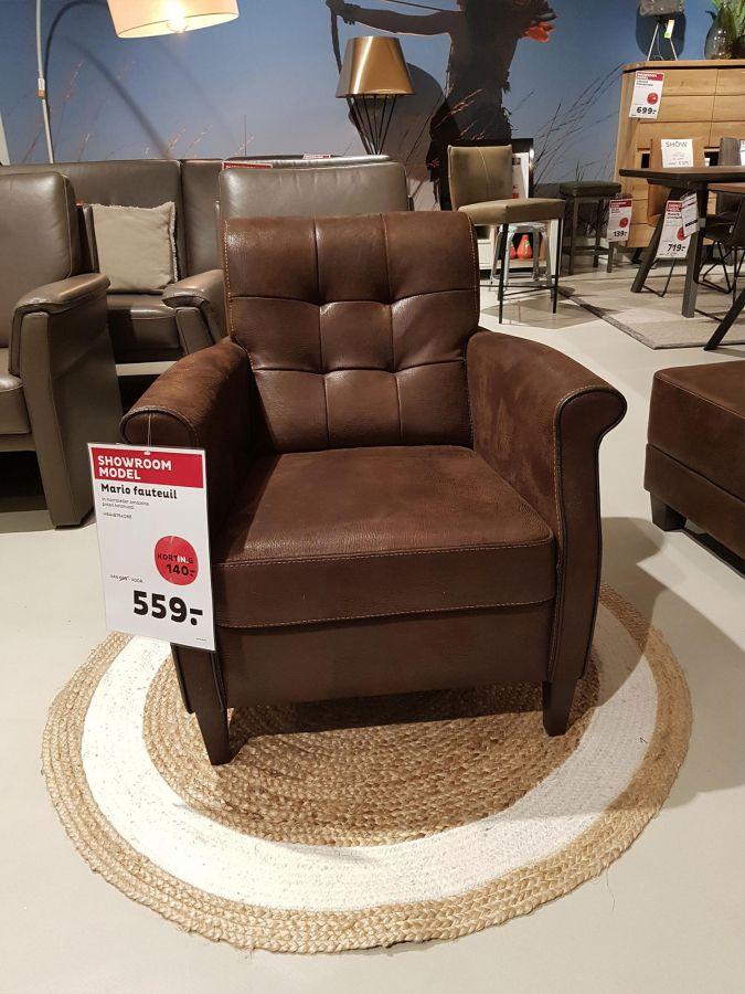 Mario fauteuil