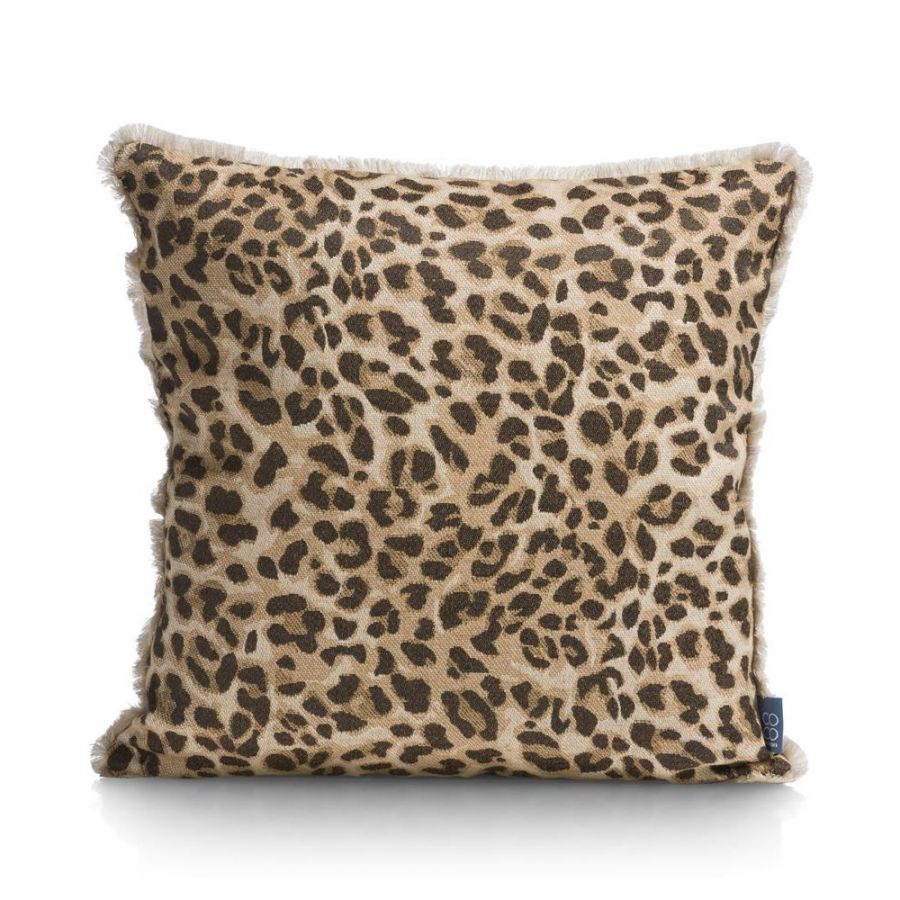 Leopard print kussen