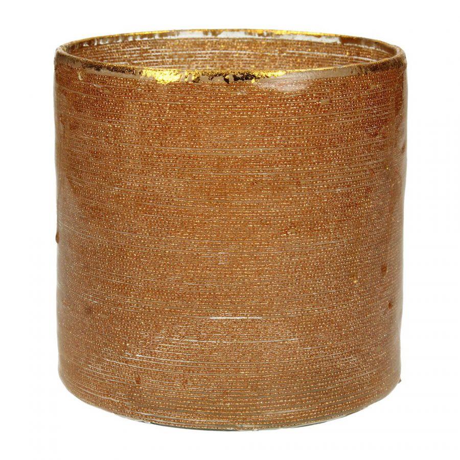 Waxinehouder Sparkle Goud