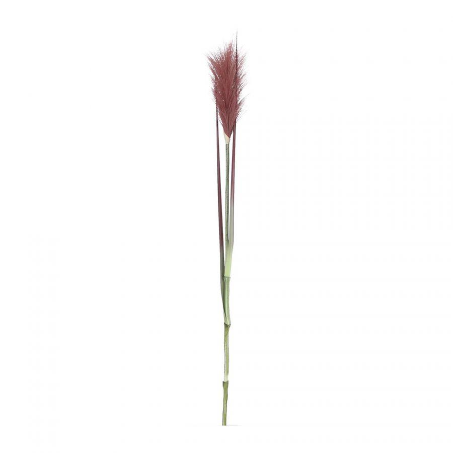 Kunstbloem Pluimgras Rood