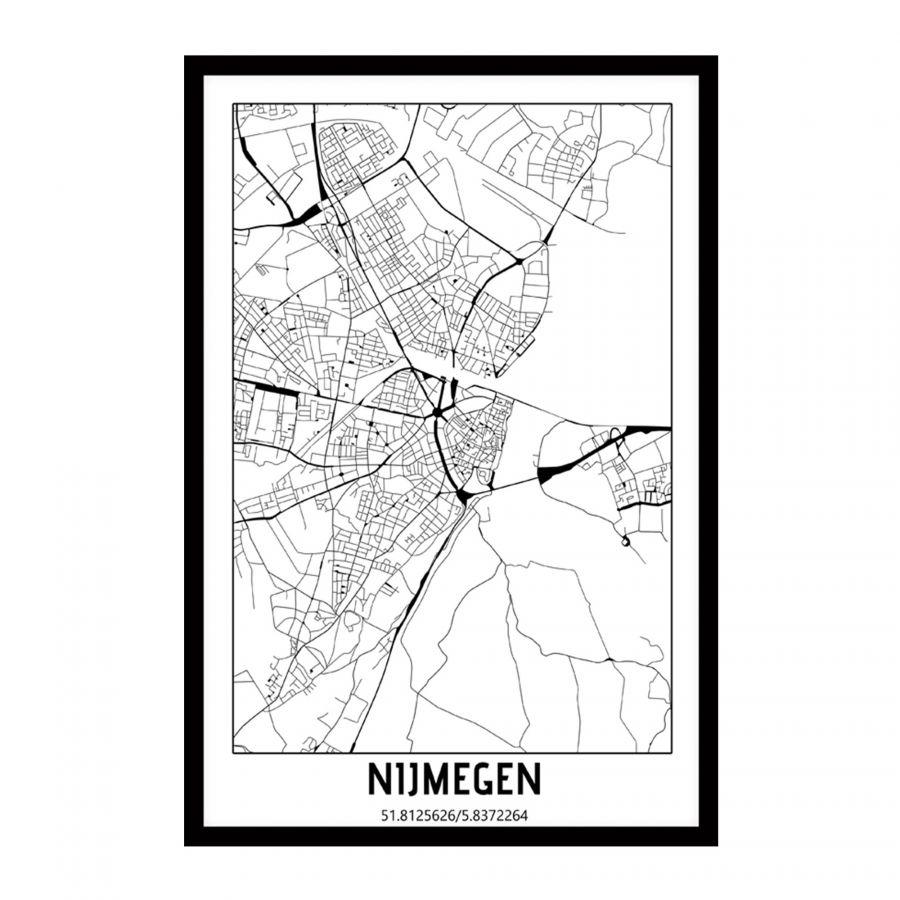 Nijmegen, Netherlands city map